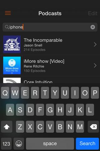 Instacast Core screenshot 3