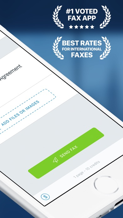 Fax Pro - Send fax from iPhone Screenshot