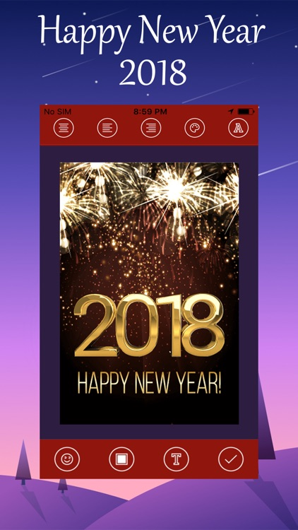 New Year Wallpaper 2018 screenshot-4