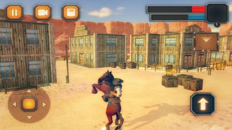 Wild West Cowboy-Rodeo Horse screenshot-4