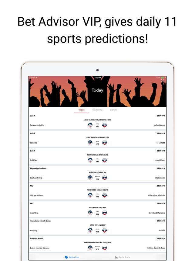 Betting predictions apple pq mauro betting saiu da band too hot