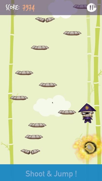 Ninja Jump and Shoot