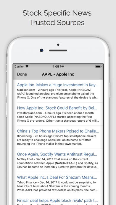 Stock Signals Pro (ms) Screenshot