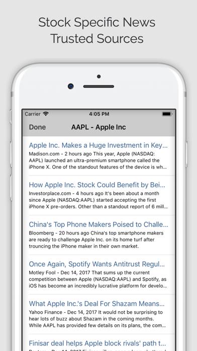 Stock Signals App