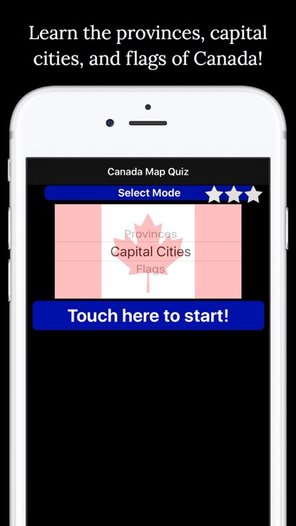 Canada Map Quiz: Education Ed. screenshot-3