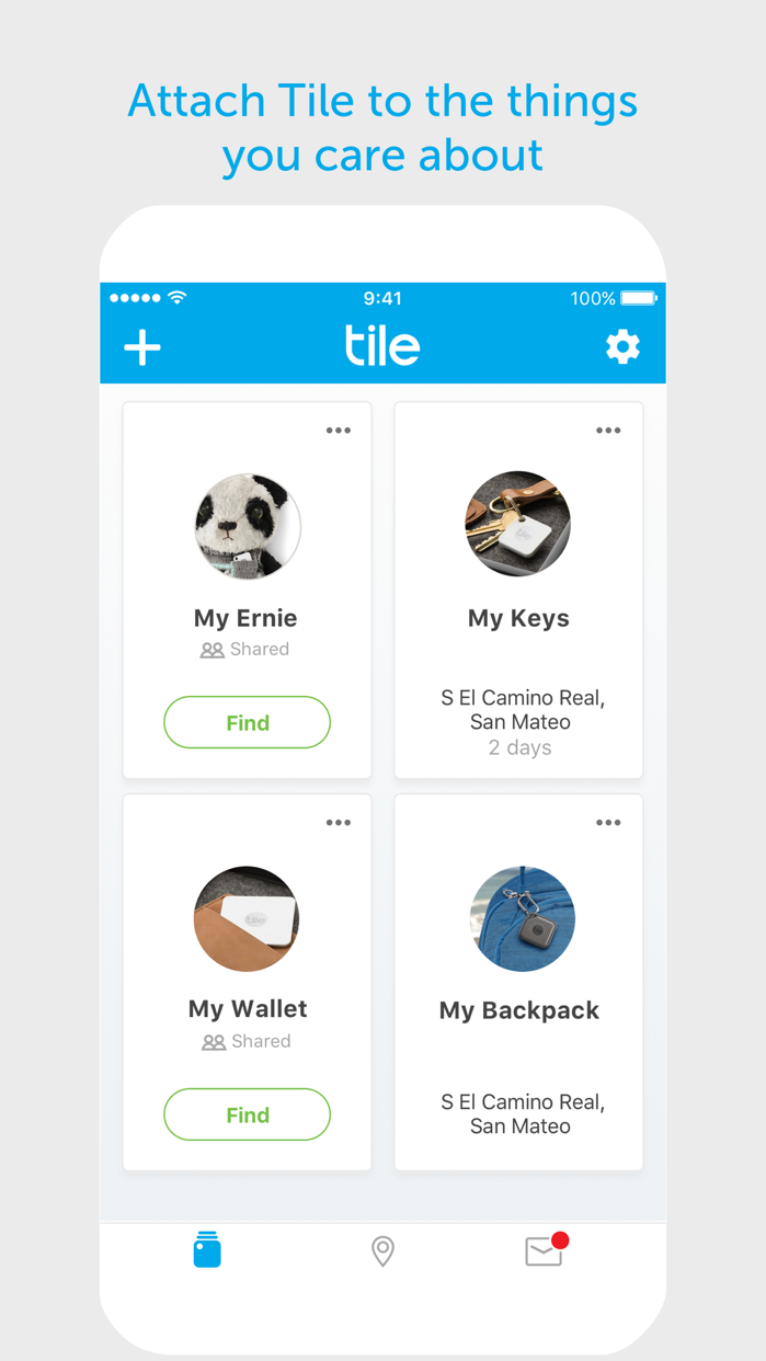Tile - Find lost keys & phone Screenshot
