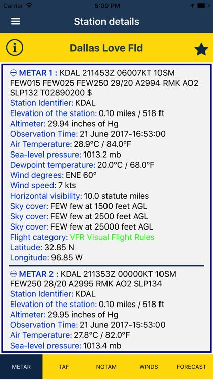 NOAA AWC Aviation Weather screenshot-3