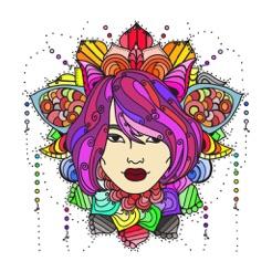 Kleurplaten Fantasie Volwassenen.Koreaans Kleurboek Volwassenen In De App Store