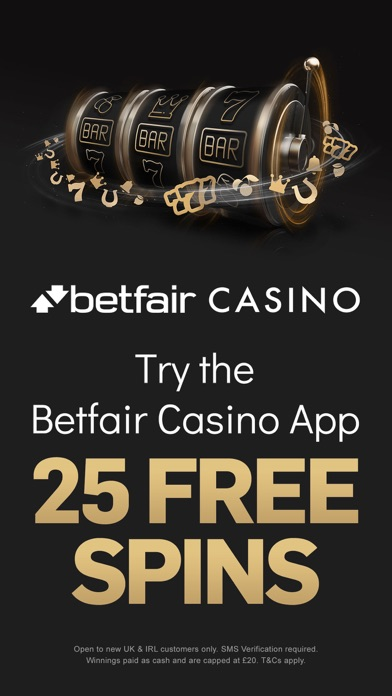 Betfair Casino & Roulette screenshot one