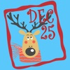 Christmas Advent Stickers