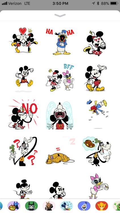 Disney Stickers: Mickey screenshot-0