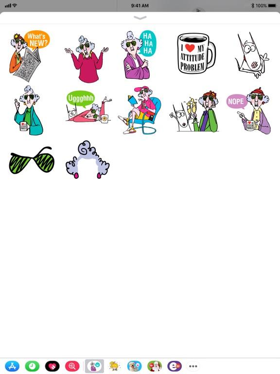 Maxine Stickers screenshot 6