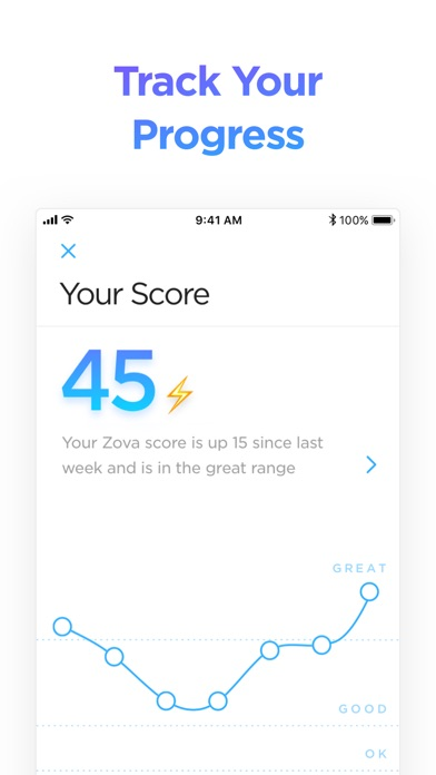 Zova Workout & Fitness Trainer app image