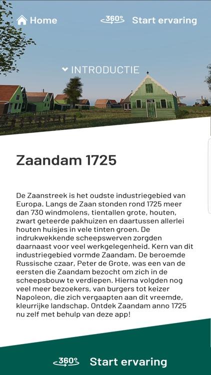 Zaandam anno 1725