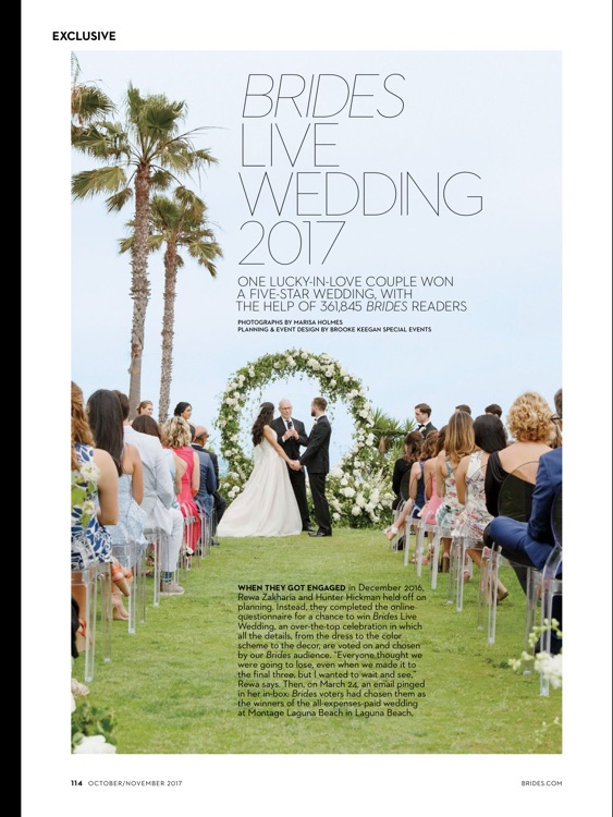 BRIDES Magazine screenshot-1