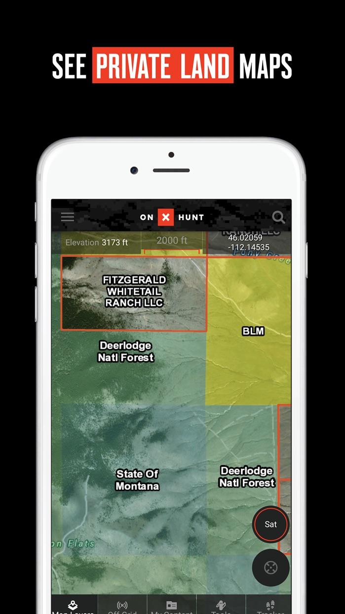 onX Hunt: #1 GPS Hunting App Screenshot