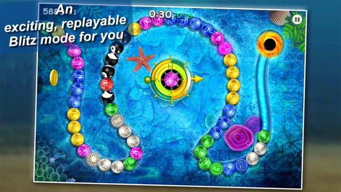 Montezuma Loops Blitz 2 Screenshot
