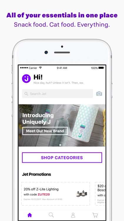 Jet: Shop Purple screenshot-0