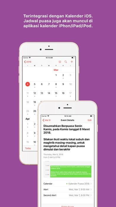 Screenshots for Kalender Puasa 2019