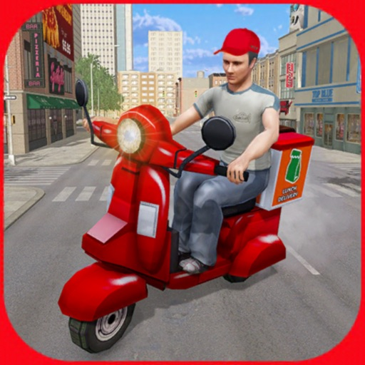 Moto Lunch Delivery Simulator iOS App