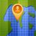 模拟位置-修改当前位置地图并分享