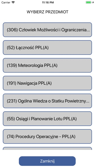 Egzamin ULC PPL(A) screenshot 2