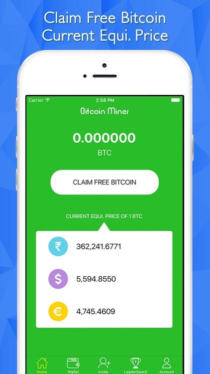 Bitcoin Cloud Miner - Earn BTC by Creative Infoway