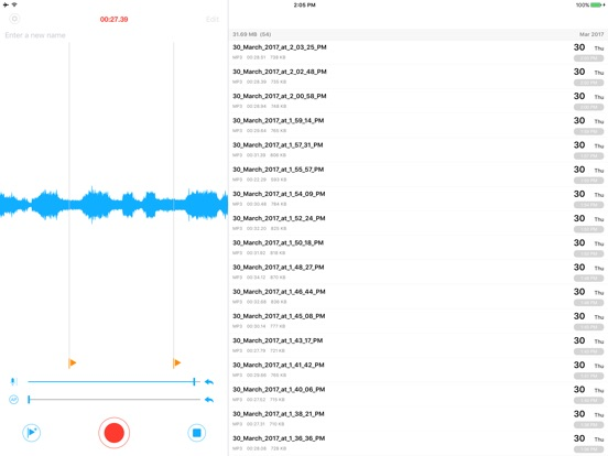 Voice Recorder PRO - Recording Screenshots