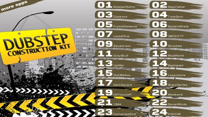 Dubstep Song Construction Kit Screenshot