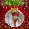 Winter Merry Xmas Photo Frames