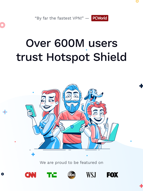 HotspotShield VPN & Wifi Proxy IPA Cracked for iOS Free Download