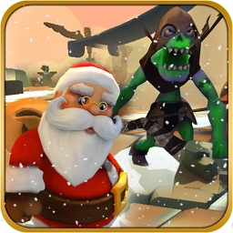 Santa Vs Monsters The Battle