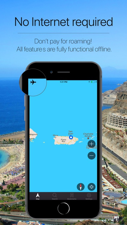 Puerto Rico Offline Navigation screenshot-0