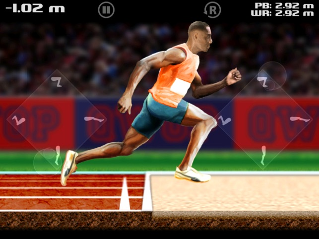 QWOP for iOS Screenshot