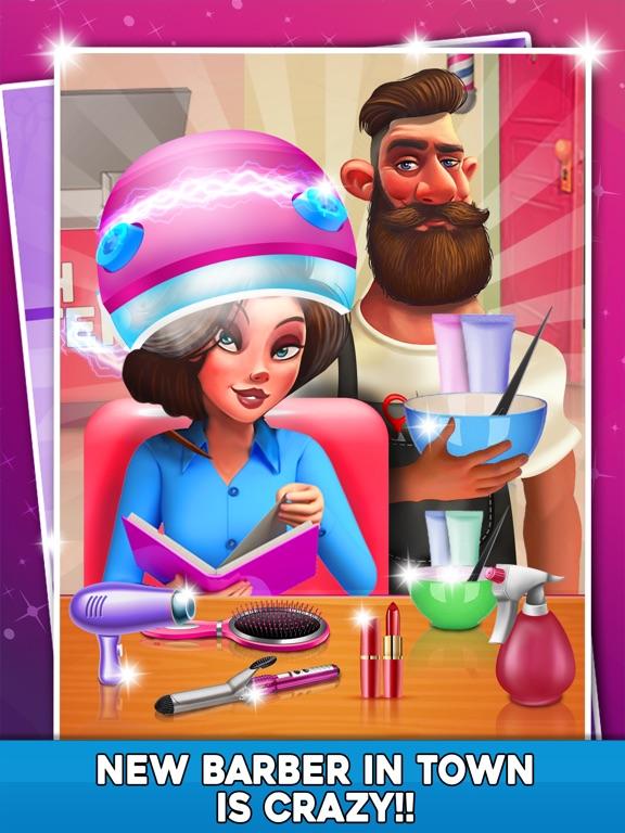 Virtual Stylist Hair Cut Game-ipad-2