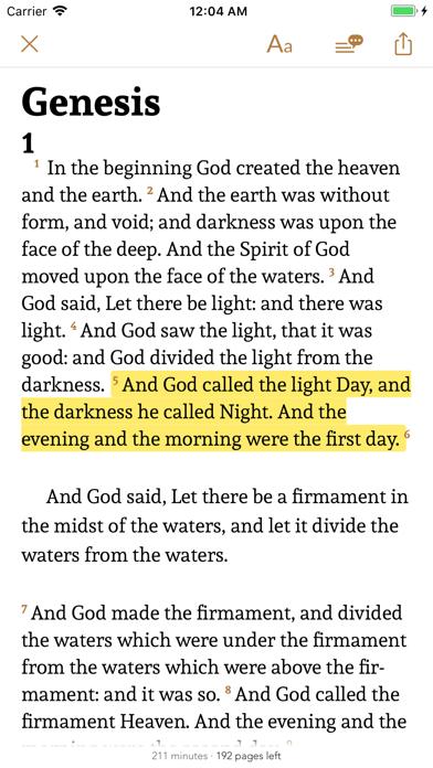 Bible · Screenshot