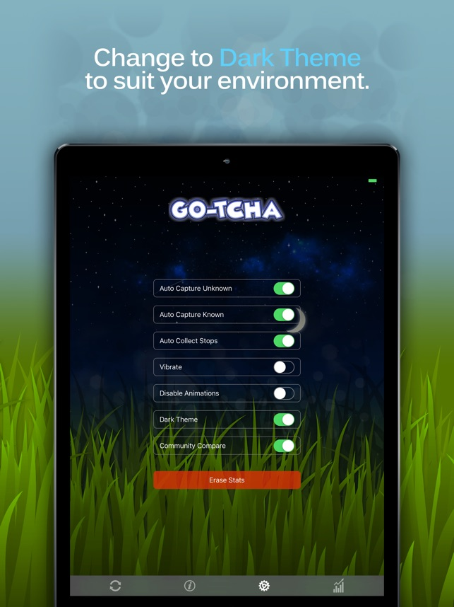 Go-tcha Update on the App Store