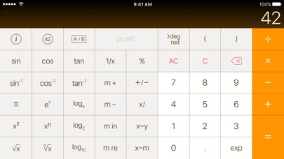 PCalc Lite screenshot two