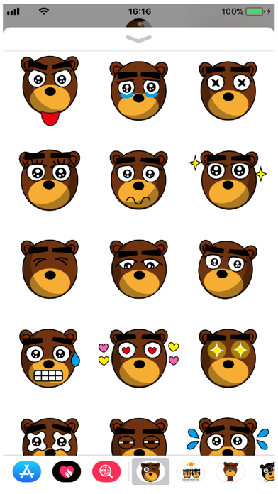 Beb 13 Stickers Screenshot