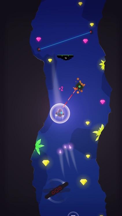 Cave FRVR - Space Ship Landing screenshot-4