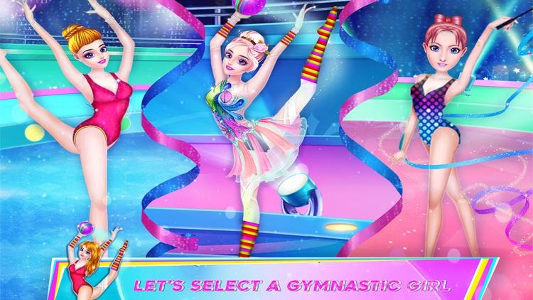 Gymnastic Dance Girl