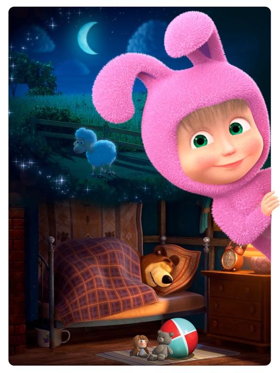 Маша и Медведь: Спокойной ночи на iPad