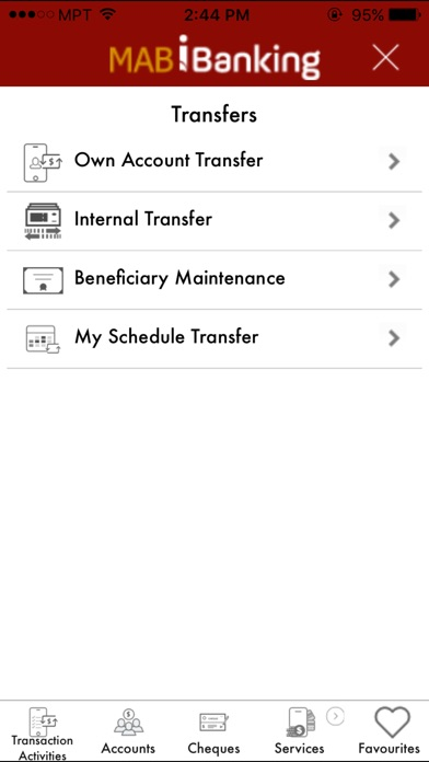 Screenshot #3 for MAB IBanking