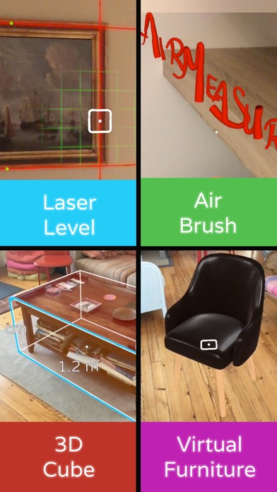 AirMeasure - измерение AR Screenshot