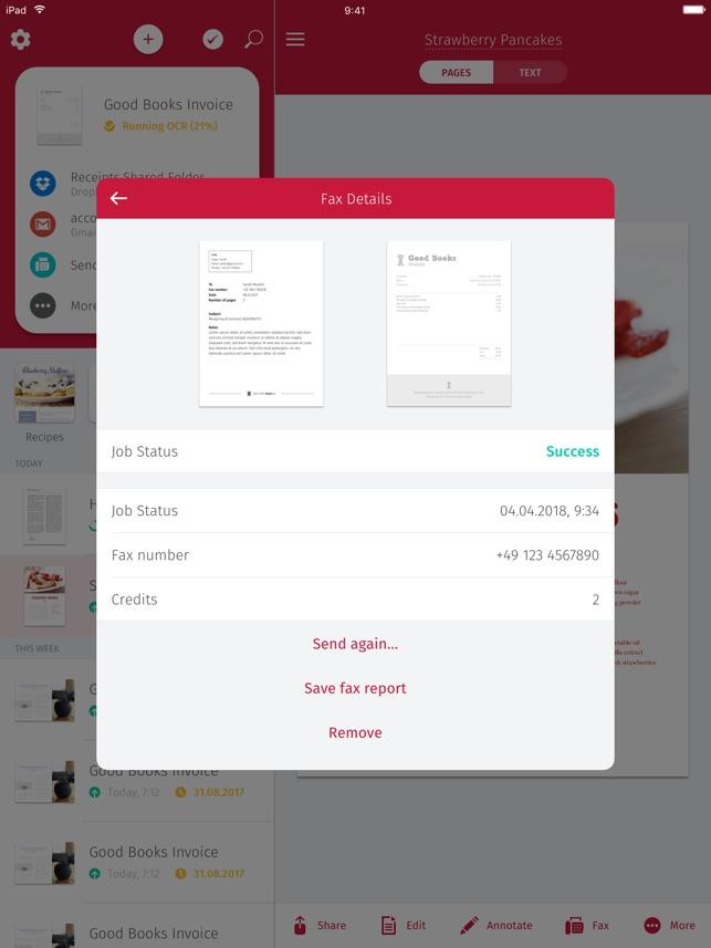 Scanbot Scanner App Scan PDF