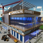 Commercial Market Construction icon