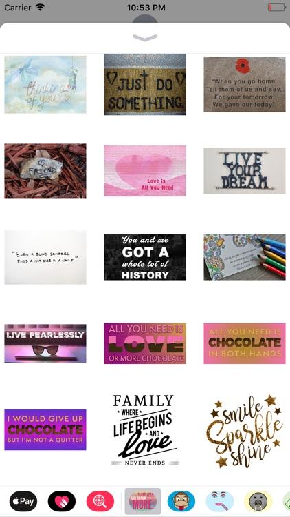 Quotable Stickers screenshot-4
