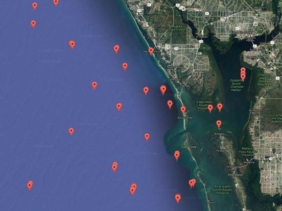 Florida Reef Locations & Info Screenshots