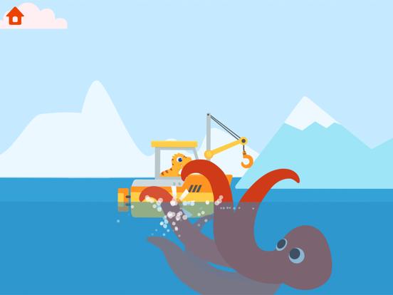 恐竜パトロールボート - 子供向けゲームのおすすめ画像6