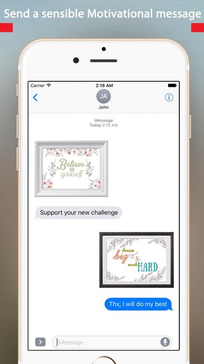 Beautiful & Elegant Motivational Quotes in Frames screenshot-3